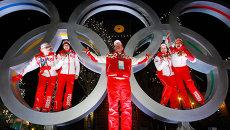 Олимпиада - 2010. Церемония награждения по итогам