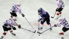 Хоккейный матч Сокол-Рубин в Красноярске