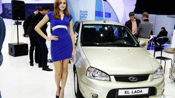 Электромобиль EL LADA. Архивное фото