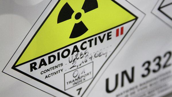 Контейнер с низкообогащенным ураном. Архивное фото