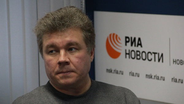 Виталий Сероклинов, и.о. главного редактора литературного журнала Сибирские огни, писатель