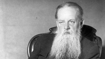 Портрет Павла Бажова. Архивное фото.