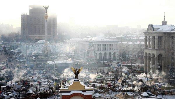 Протесты в Киеве 25 января 2014 года. Фото с места события