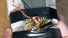 Самодельное взрывное устройство. Архивное фото