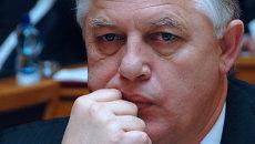 Лидер коммунистической партии Украины Петр Симоненко. Архивное фото