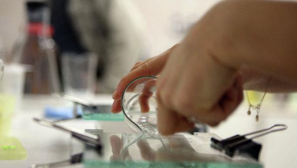 Исследования ДНК. Архивное фото