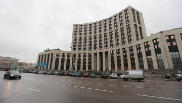 Здание Внешэкономбанка РФ. Архивное фото