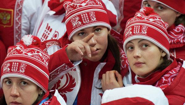 Спортсменки женской сборной России по хоккею. Архивное фото