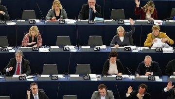Пленарное заседание Европарламента в Страсбурге. Архивное фото