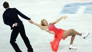 Олимпиада 2014. Фигурное катание. Команды. Танцы на льду. Короткая программа