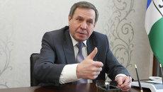 Вице-губернатор Новосибирской области Владимир Городецкий, архивное фото
