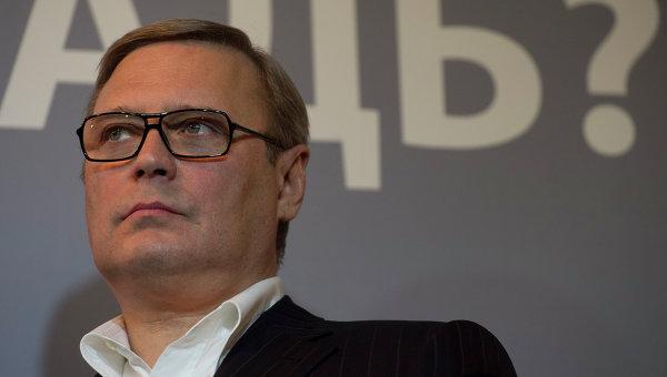Председатель Российского народно-демократического союза Михаил Касьянов. Архивное фото