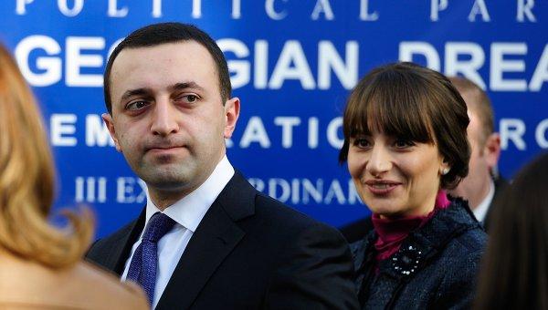 Премьер-министр Грузии Ираклий Гарибашвили, архивное фото