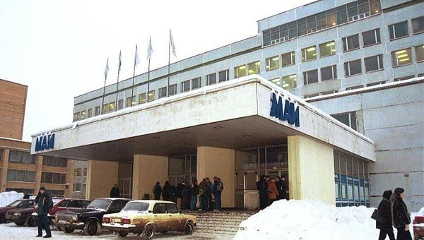 Здание Московского авиационного института (МАИ). Архивное фото