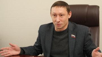 Депутат заксобрания Новосибирской области Евгений Подгорный, архивное фото