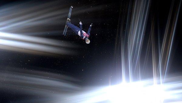 Лыжная акробатика, архивное фото