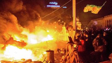 Евромайдан в Киеве. Архивное фото