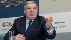 Полпред президента в СФО Виктор Толоконский, архивное фото