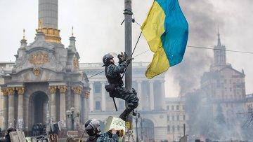 На площади Независимости в Киеве. Архивное фото