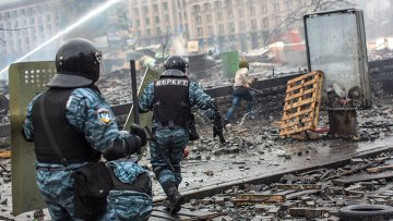 Ситуация на Майдане в феврале 2014 года. Архивное фото