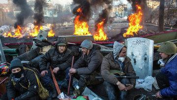 Развитие ситуации в Киеве. Архивное фото