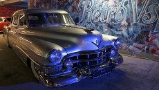 Выставка ретро-автомобилей American Car Show в Санкт-Петербурге