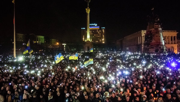 Ситуация на Украине. 23 февраля 2014 года
