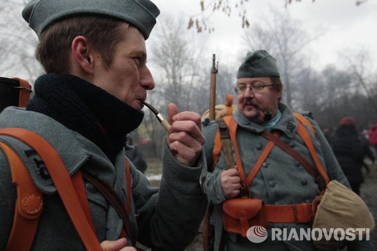 Военно-исторический фестиваль Три эпохи в Петербурге