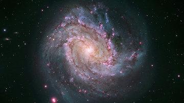 Спиральная галактика M83, архивное фото