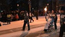 С факелом по атомграду: как Северск принял Паралимпийский огонь