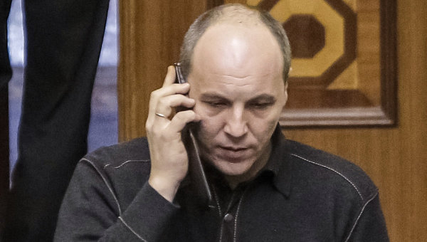 Секретарь СНБО Украины Андрей Парубий. Архивное фото