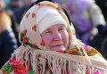 Празднование Масленицы в Красноярске