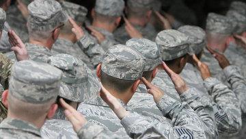 Военнослужащие США, архивное фото