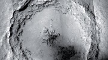 Кратер Мохаве на Марсе