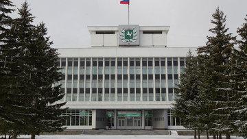 Здание администрации Томской области, архивное фото