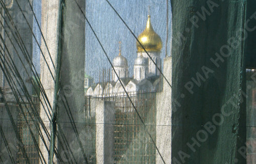 Архитектурные ляпы Москвы: Кремль на фоне небоскребов