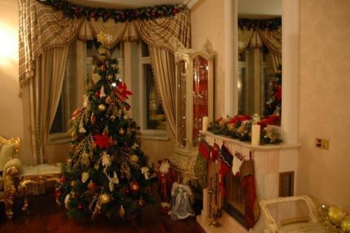 Как подготовить к Новому году загородный дом