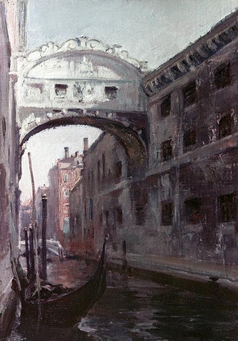 Репродукция картины Венеция. Мост вздохов