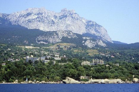 Черноморское побережье Крымского полуострова