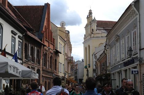 Города мира. Вильнюс