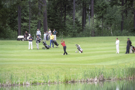 XII Открытый чемпионат России по гольфу