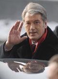 Действующий президент Украины Виктор Ющенко принял участие в голосовании в день второго тура выборов президента Украины