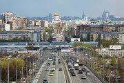Вид на Метромост и Комсомольский проспект