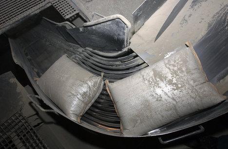 цементный завод цемент мешок цех
