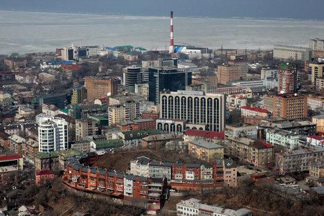 Виды города Владивостока