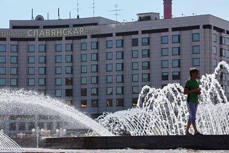 Гостиница Radisson SAS Славянская на площади Европы в Москве