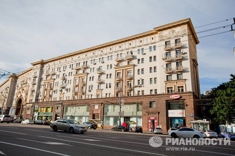 Коктейль-холл на Тверской
