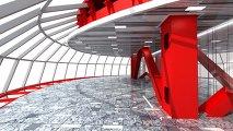 ЗАГС в стеклянном эллипсоиде на Живописном мосту в Москве