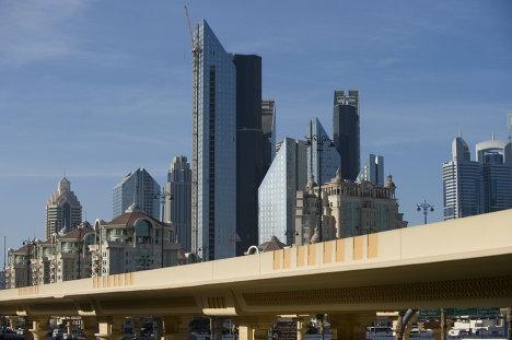 Дубай, небоскребы