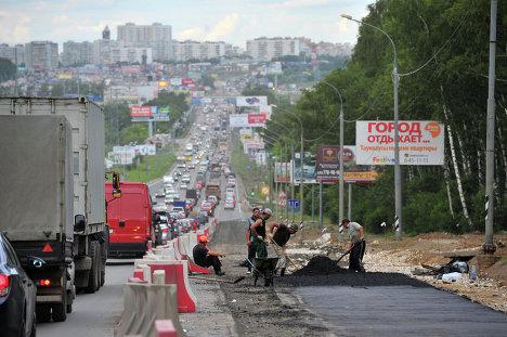 Новая Москва, Калужское шоссе